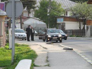 Nicolescu si Dobre la Rucar in vizita de lucru la Centrul Cultural nefinalizat nici azi! 2