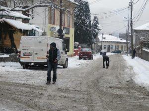 Campulung Muscel in plina iarna! 008